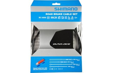 SHIMANO brzdové lanko silniční BC-9000 šedé