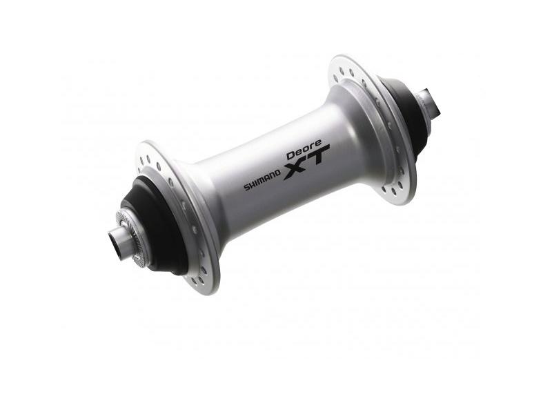 Nába přední Shimano XT HB-M770 32děr pro V-brzdu barva stříbrná