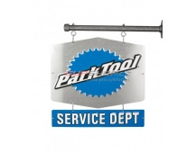 PARK TOOL Cedule SERVICE DEPARTMENT oboustranná