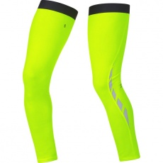 GORE Visibility Thermo Leg Warmers-neon yellow