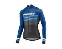 GIANT Race Day Mid-Thermal L/S Jersey-black/navy