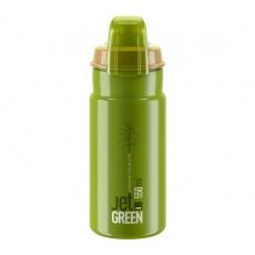 ELITE láhev JET GREEN 21' PLUS bílé logo 550 ml