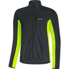 GORE C3 WS Classic Thermo Jacket-black/neon yellow-XXL