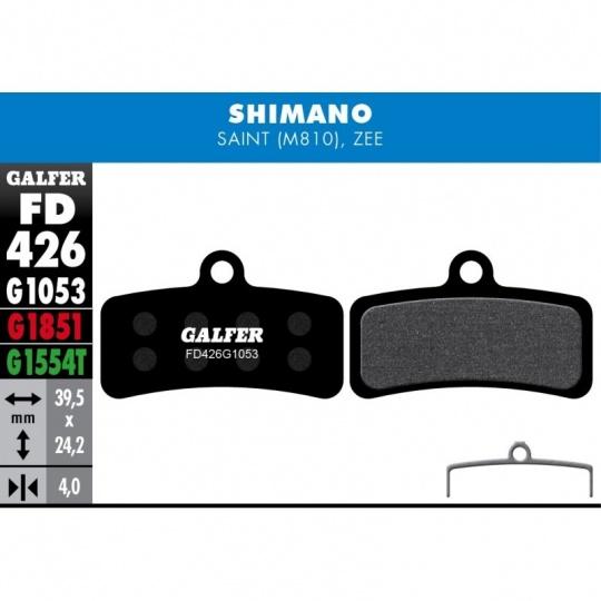 GALFER destičky SHIMANO/TRP FD426 PRO