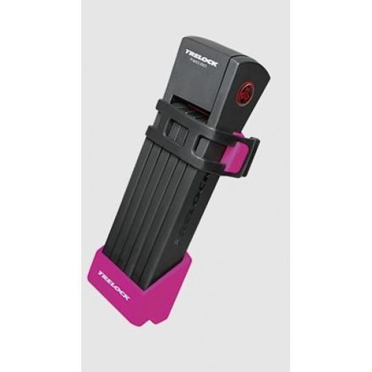 Trelock zámek skládací FS 200/75 Two go růžová