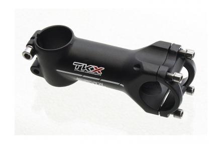 Představec Techkeeps TKX Alu 31,8mm,90mm barva černá mat