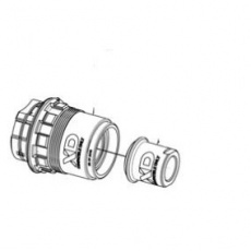 For XCR/TRX 27.5 1 Rear Hub GDC1516 Convert to XD Driver (w/12mm DS End Cap only)