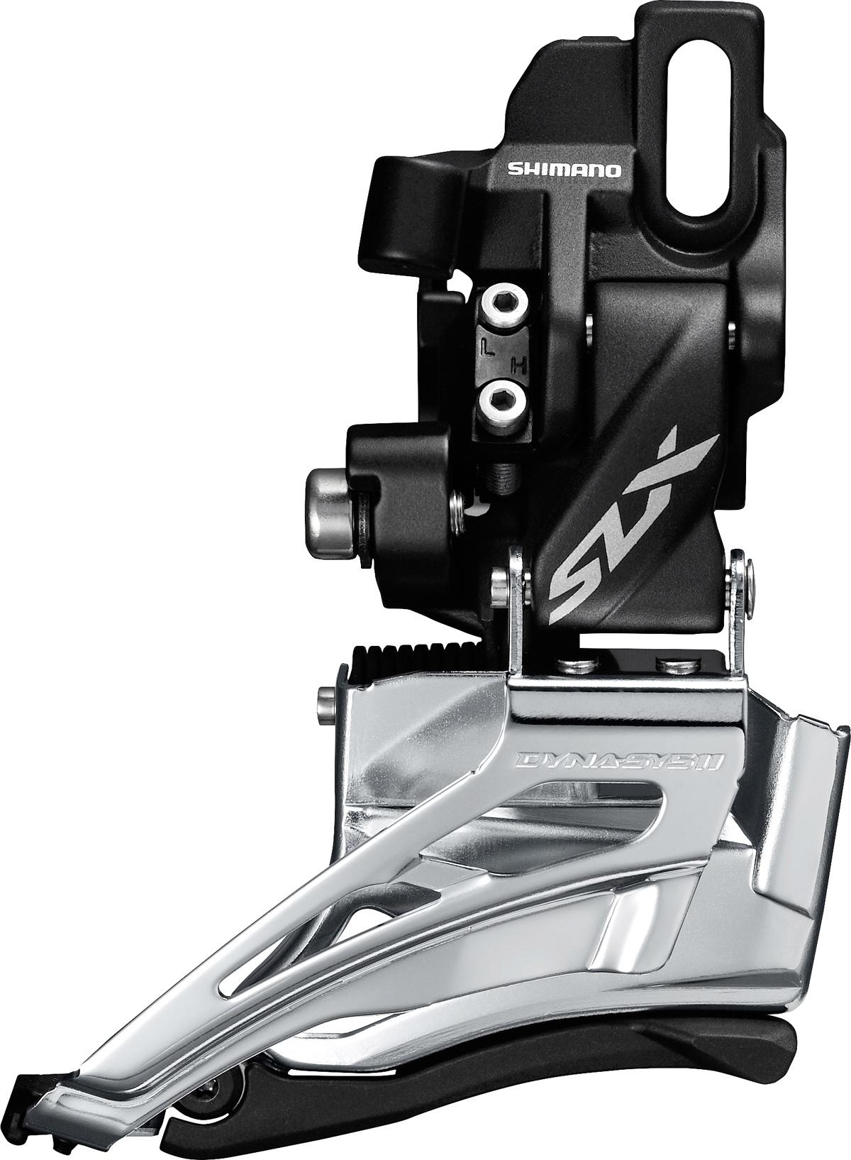 SHIMANO přesmykač SLX FD-M7020 MTB pro 2x11 př mont D-typ Down-swing dual pull 34/38 z