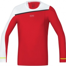 GORE Fusion Shirt long-red/white