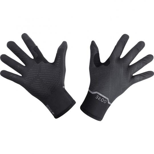 GORE GTX Infinium Stretch Mid Gloves-black/terra grey