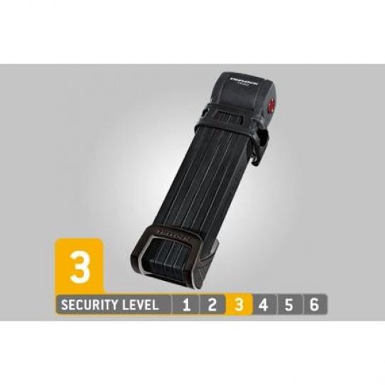 Trelock zámek skládací FS 300/100 Trigo L černá