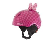 GIRO Launch Plus Pink Bow Polka Dots XS