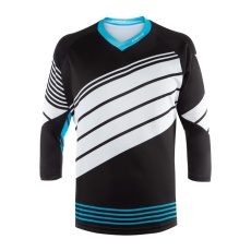 Dainese dres HG JERSEY 2 HAWAIIAN-OCEAN/STRETCH-LIMO/WHITE