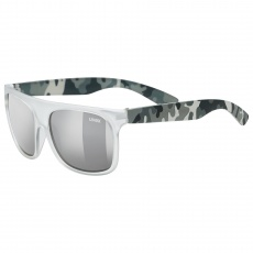 20 UVEX BRÝLE SPORTSTYLE 511, WHITE TRANSPARENT CAMO (8916)