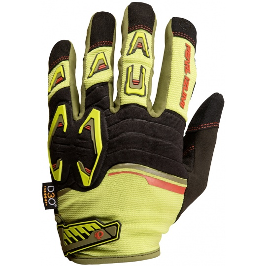PEARL iZUMi LAUNCH rukavice, CITRON / černá
