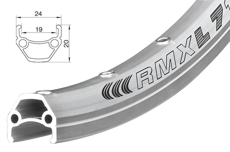 Ráfek REMERX Dragon L-719 507x19 SA+GBS 36 děr