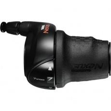 SHIMANO řadící páčka Nexus SL-C3000 pravá 7 rychl revoshift černá CJ-NX10 bal