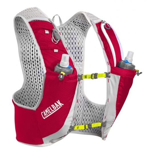 CAMELBAK Ultra Pro Vest Crimson Red/Lime Punch M