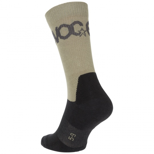 EVOC ponožky - SOCKS MEDIUM LIGHT OLIVE