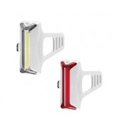 GUEE COB-X USB SET př+z světlo/blikačka bílý