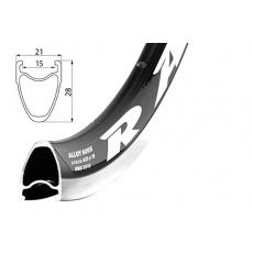 Ráfek REMERX Rapid 622x15 BA +GBS 24 děr