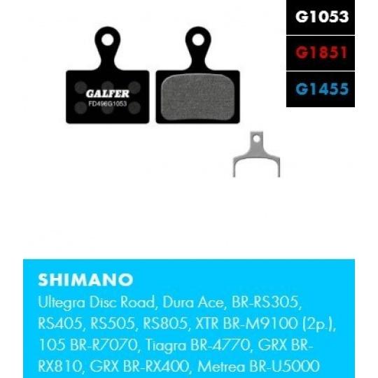 GALFER destičky SHIMANO FD496 advanced