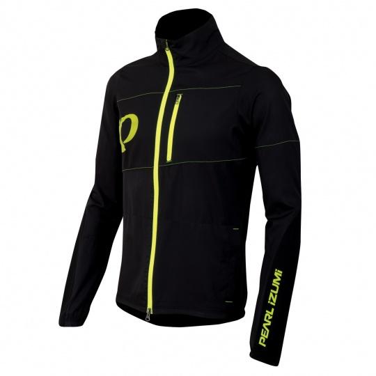 PEARL iZUMi MTB BARRIER bunda, černá/SCREAMING žlutá