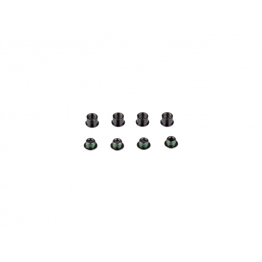 11.6915.005.000 - SRAM CHAINRING BOLT KIT 4 STEEL BLACK