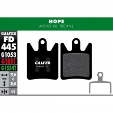 GALFER destičky HOPE FD445 standart