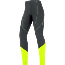 GORE Element Lady Thermo Tights-black/neon yellow