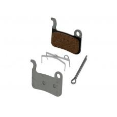 Brzdové destičky Shimano BR-M975 M07 TI polymerové pro brzdy Shimano BR-M535,585,601,765,800,965,966+pružinky