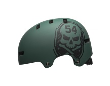 BELL Local Mat Green/Black Skull
