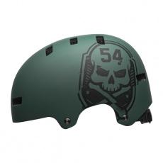BELL Local Mat Green/Black Skull