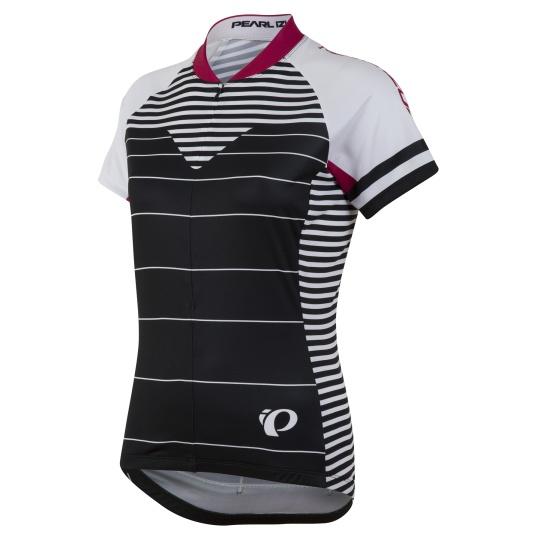 PEARL iZUMi W SELECT LTD dres s krátkým rukávem, MOTO černá