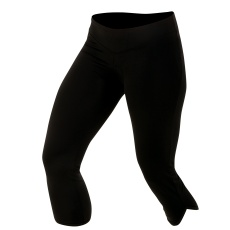 PEARL iZUMi W SUPERSTAR cyklistické 3/4 kalhoty, černá