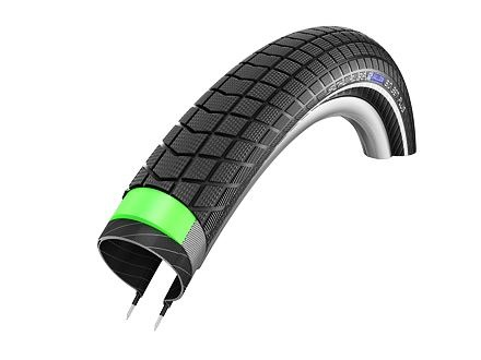Schwalbe plášť Big Ben Plus 20x2.15 GreenGuard SnakeSkin černá+reflexní pruh