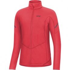 GORE M Women Thermo Long Sleeve Zip Shirt-hibiscus pink-34