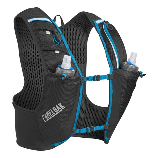 CAMELBAK Ultra Pro Vest Black/Atomic Blue S