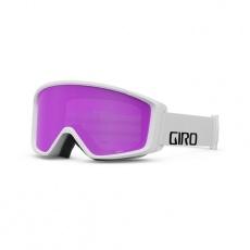 GIRO Index 2.0 White Wordmark Amber Pink