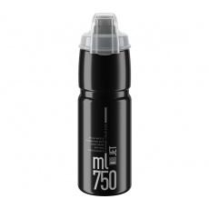 ELITE láhev JET PLUS 21'  černá/šedé logo, 750 ml