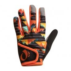 PEARL iZUMi JUNIOR MTB rukavice, APRES oranžová