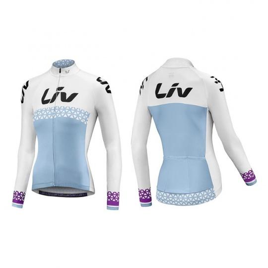 LIV Beliv-Luna LS Jersey-blue/white/purple