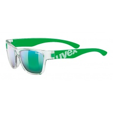2021 UVEX BRÝLE SPORTSTYLE 508 CLEAR GREEN/GREEN MIRROR (9716)