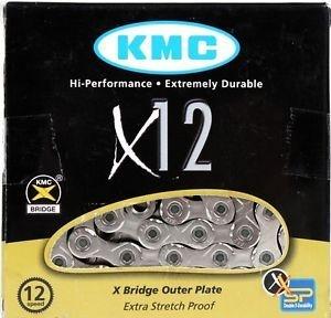 ŘETĚZ KMC X-12 BOX STŘÍBRNÝ