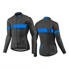 GIANT Podium LS Thermal Jersey-black/blue