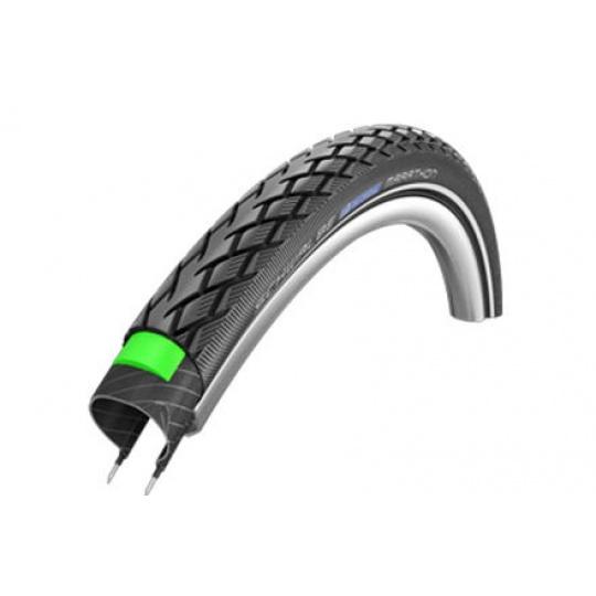 Schwalbe plášť Marathon 26x1 3/8 37-590 GreenGuard černá+reflexní pruh