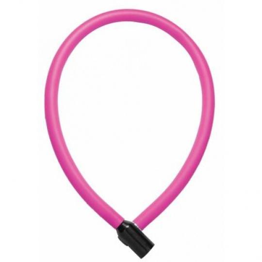 Trelock zámek kabelový KS 106 60/6 růžový