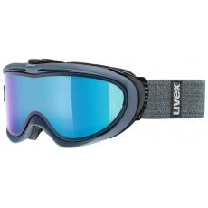 lyžařské brýle UVEX COMANCHE TAKE OFF, navy mat dl/mirror blue (4126)