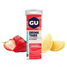 GU Hydration Drink Tabs 54 g Strawberry Lemonade 1 tuba (balení 8ks)