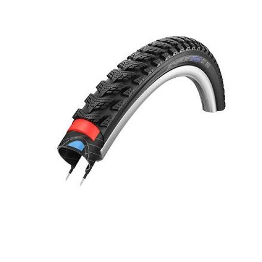 Schwalbe plášť Marathon GT365 37-622 DualGuard černá+reflexní pruh